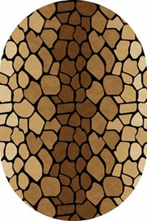 d046-brown-oval
